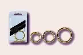 Silver Ring Medium Cockring