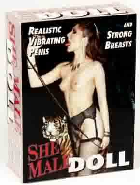 SheMale Doll 2 Hole Tranny Sex Doll