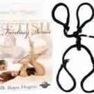 Fetish Fantasy Silk Rope Hogtie