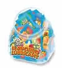 ID Juicy Lube 7.5mL Foil Packs Display