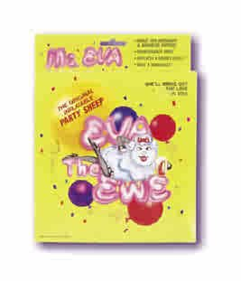 Ms. Eva Party Sheep - Inflatable Animal Sex Doll