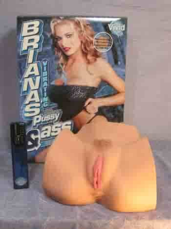 Briana Banks Vibrating Pussy and Ass
