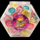 Latex Colored Condoms 144PC Bowl
