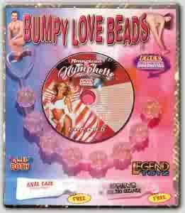 Bumpy Love Beads Blue Anal Beads