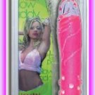 "Glow Daddy Studded 10"" Glass Dildo"