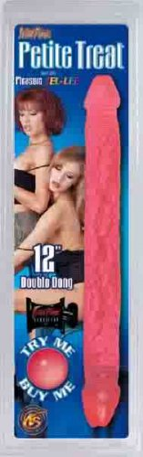 "Petite Treat 12"" Jel-Lee Double Dong Double Head Dildo"