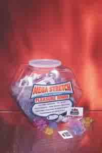 Mega Stretch Rings 72 PC Bowl Assorted