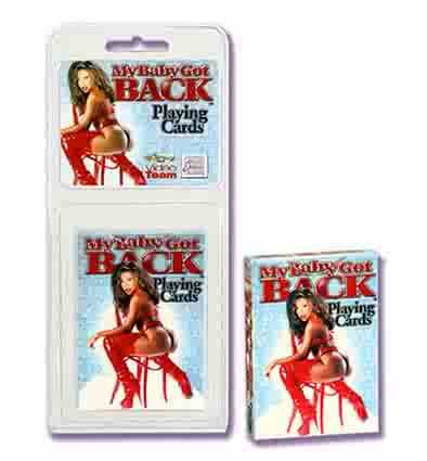 My Baby Got Back Adult Playing Cards