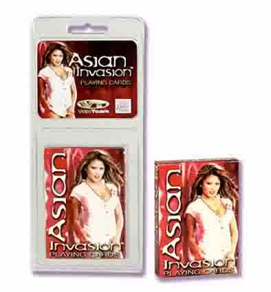Asian Invasion Adult Playing Cards