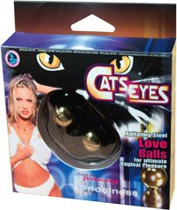 Ben Wa Balls Cats Eyes Love -  NW1200