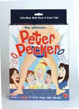 Peter Pecker Blow Up Party Doll - TO02047