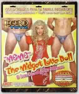 Meme The Midget Love Doll Blow Up - LT109