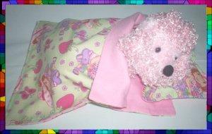 Sleeping Bag & Pillow 4 Webkinz ~ Strawberry Shortcake FREE US AND CANADA SHIPPING