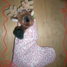 Custom Christmas Stocking Sack for Webkinz Lil'Kinz #8 FREE US AND CANADA SHIPPING
