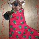 Custom Christmas Stocking Sack for Webkinz Lil'Kinz #3 FREE US AND CANADA SHIPPING
