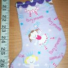 Handmade Christmas Stocking Ornament 262 Fairy Princess FREE US AND CANADA SHIPPING
