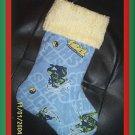 Handmade Christmas Stocking Teenage Mutant Ninja Turtle FREE US AND CANADA SHIPPING