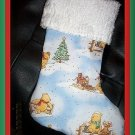 Handmade Christmas Stocking ~ Winnie the Pooh Tigger H FREE US AND CANADA SHIPPING