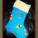 Handmade Christmas Stocking ~ Winnie the Pooh Tigger A FREE US AND CANADA SHIPPING