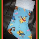 Handmade Christmas Stocking ~ Winnie the Pooh Piglet B FREE US AND CANADA SHIPPING