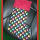 Handmade Christmas Stocking ~ The Beatles FREE US AND CANADA SHIPPING