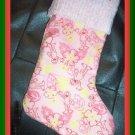 Handmade Christmas Stocking ~ Sesame Street Elmo FREE US AND CANADA SHIPPING