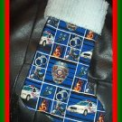 Handmade Christmas Stocking ~ Police Policeman Hero FREE US AND CANADA SHIPPING