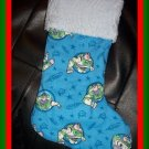 Handmade Christmas Stocking ~ Pixar Buzz Lightyear FREE US AND CANADA SHIPPING