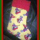 Handmade Christmas Stocking ~ Peter Pan Captain Hook FREE US AND CANADA SHIPPING