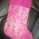 Handmade Christmas Stocking ~ Pebbles Flinstone FREE US AND CANADA SHIPPING