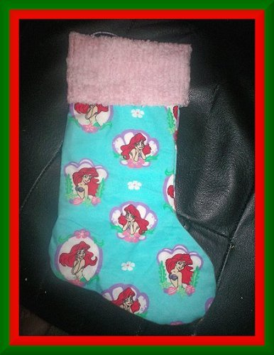 Handmade Christmas Stocking ~ Little Mermaid Ariel FREE US AND CANADA SHIPPING