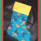Handmade Christmas Stocking ~ Disney Pixar Finding Nemo FREE US AND CANADA SHIPPING