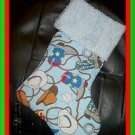 Handmade Christmas Stocking ~ Cowboy Hats & Boots FREE US AND CANADA SHIPPING