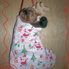 Custom Christmas Stocking Sack for Webkinz Lil'Kinz #6 FREE US AND CANADA SHIPPING