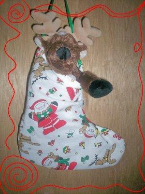Custom Christmas Stocking Sack for Webkinz Lil'Kinz #5