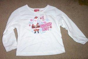 NWT Adorable Santa Long Sleeved T-Shirt size 18 month