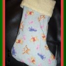 Handmade Christmas Stocking ~ Winnie the Pooh Eeyore C