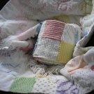 Vintage Chenille Custom Baby Quilt & Bumper Pads
