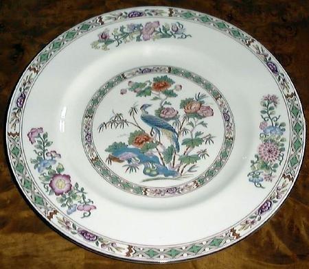 Fine China KUTANI CRANE Dinner Plate by Wedgwood