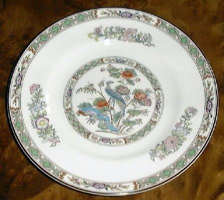 Fine China KUTANI CRANE Bread & Butter Plate by Wedgwood
