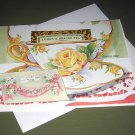 TEA CUP GREETING CARD BIRTHDAY GREETINGS