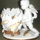 Outstanding Decorative Porcelain Figurine Cupid Objet d'art