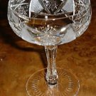 Elaborate Cut Glass Crystal Stem CHAMPAGNE or SHERBET Goblet