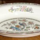 KUTANI CRANE 11 inch Open Vegetable Bowl Fine Wedgwood China