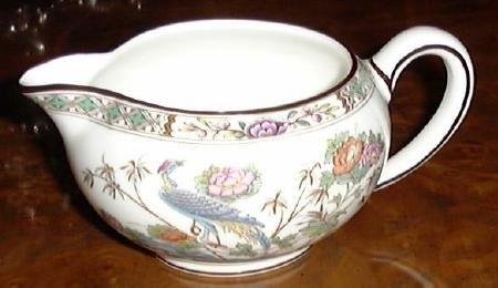 KUTANI CRANE Creamer Wedgwood Porcelain China