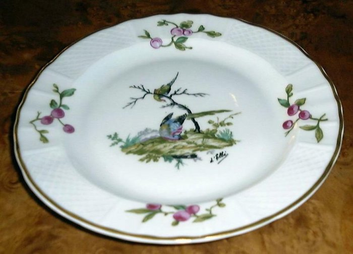 MENNECY Bread or Pastry Plate by Bernardaud & Co Limoges France