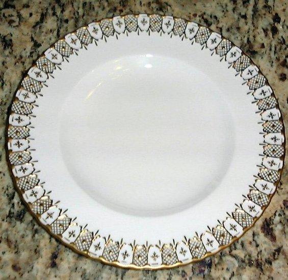 English China Salad Plate Royal Crown Derby HERALDIC