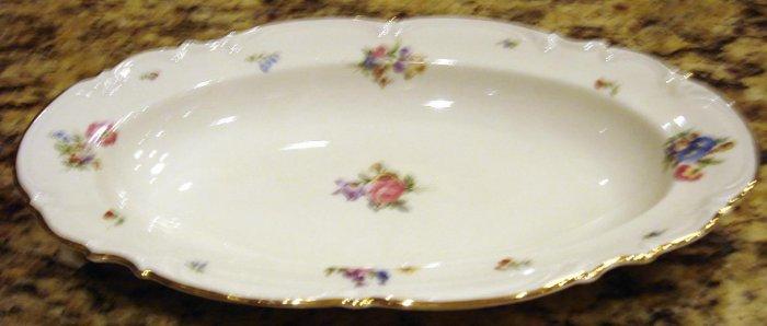 10 inch Oval Platter MAYFAIR Hutschenreuther