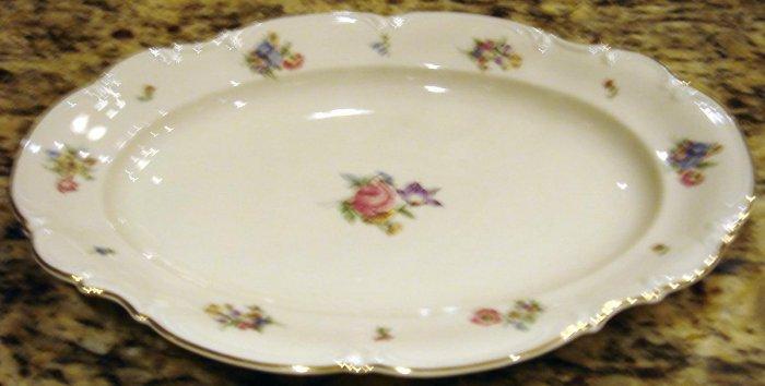 MAYFAIR Porcelain Medium Oval Serving Platter Hutschenreuther