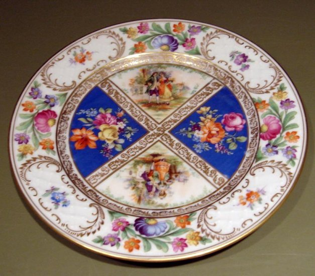 royal dresdner schumann bavaria 8 3  8 u0026quot  plate figures betsy ross germany